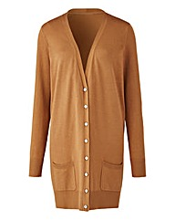 Toffee Boyfriend Cardigan