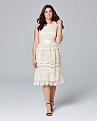 Lovedrobe Sleeveless Crochet Dress