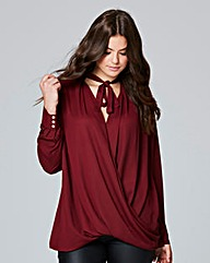 Lovedrobe Wrap Front Blouse
