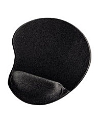 Hama Ergonomic Mouse Pad Black
