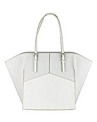 Structured Winged Tote Bag