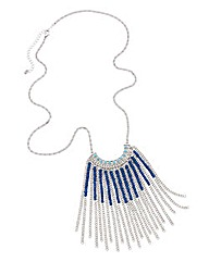 Chain Fringing Necklace