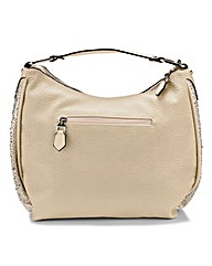 Cushion Walk Shoulder Bag with Diamantes
