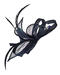 Black Clip In Fascinator