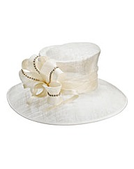Occasion Hat with Diamante Detail