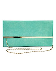 Mint Clutch Bag