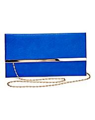Cobalt Clutch Bag