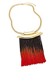 Fringing Statement Necklace