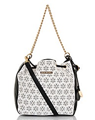 Little Mistress Cut Out Duffle Bag