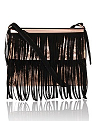 Little Mistress Fringe Across Body Bag