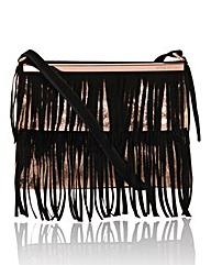 Little Mistress Fringe Across Body Bag