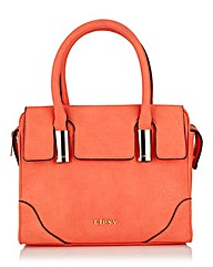 Lipsy Coral Folded Tote Bag