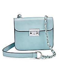 Blue Mini Satchel Bag