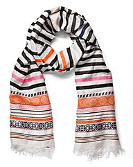 Pieces Multi Thala Long Scarf