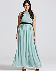 Little Mistress Sage Maxi Dress
