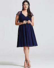 Little Mistress Navy Prom Dress