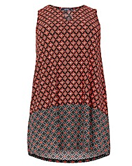 Samya Moorish Print Swing Dress