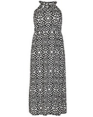 Samya Trible Print Maxi Dress