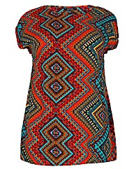 Samya Tunic Print Dress