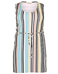 Sienna Couture Stripe Tunic Dress