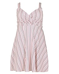 Sienna Couture Striped Sundress