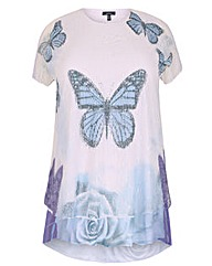 Samya Butterfly Contrast Top
