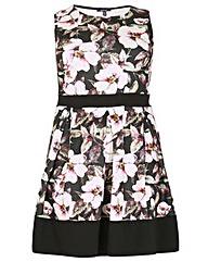 Samya Pleated Floral Dress