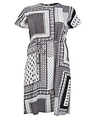 Koko Shift Dress With Side Splits