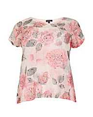 Samya Floral Sequin Embellished Top
