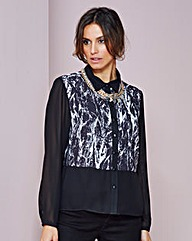 Blouse With Back split
