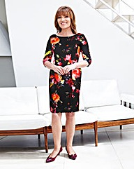 Lorraine Kelly Floral Print Dress
