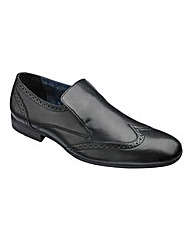 Formal Slip On Wingtip Shoes Extra Wide