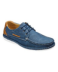 Cushion Walk Casual Lace Up Boat Shoe W
