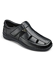 Comfort Sandalised Shoe Extra Ultra Wide