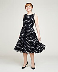 Lorraine Kelly Spot Dress
