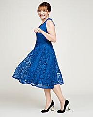 Lorraine Kelly Lace Dress