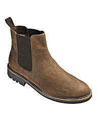 Heavy Sole Chelsea Boots