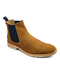 Trustyle Tan Suede Chelsea Boot