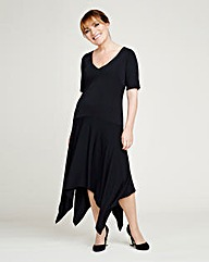 Lorraine Kelly Hanky Hem Dress