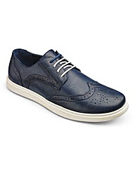 Casual Lace Up Brogues Extra Wide Fit