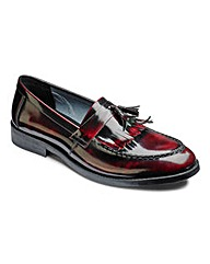 Hi Shine Fringe Loafer