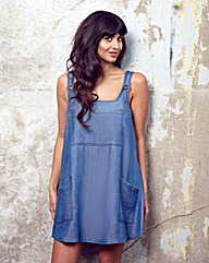 Jameela Jamil Oversized Denim Dress