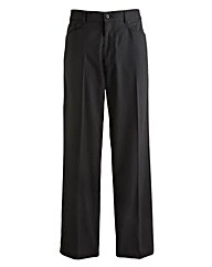 Jacamo Pinstripe 5Pocket Trouser 27In