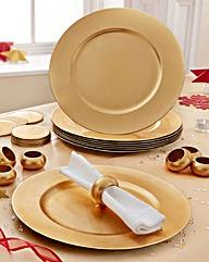 24 Piece Gold Table Decoration Set