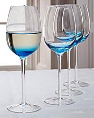 Denby Wine Glasses Set of Four