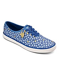 Keds TS Metallic Hearts Trainers