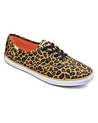 Keds Leopard Print Trainers