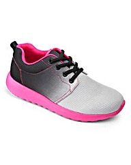 Sole Diva Colourfade Trainers EEE Fit