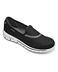 Skechers Go Walk Pumps Wide Fit