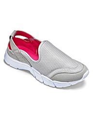 Be Active Slip On Trainers E Fit